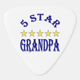 Five Star Grandpa Guitar Pick