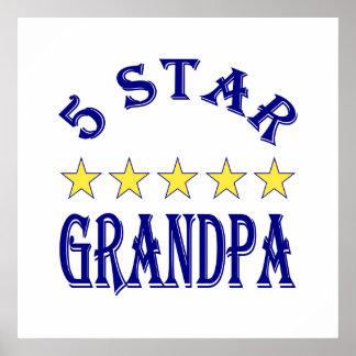 Five Star Grandpa Poster