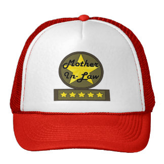 Five Star Mother-In-Law Mothers Day Gifts Trucker Hat