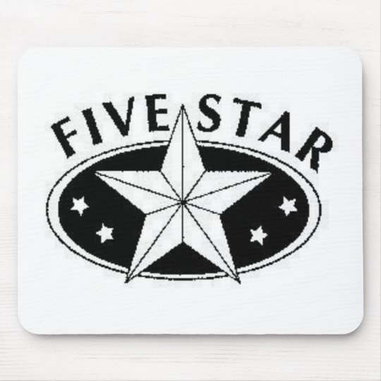 Five Star Mouse Pad