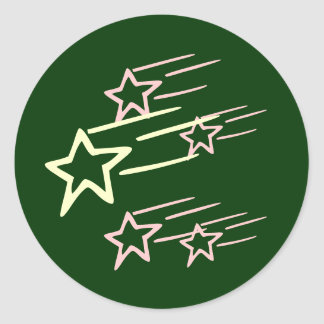 FIVE STAR ...  Share with FRIENDS Classic Round Sticker