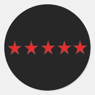 five star sticker