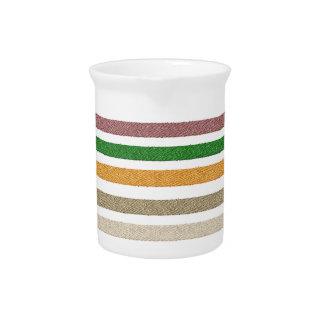Five Stripes Drink Pitcher