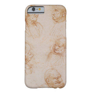 Five Studies of Grotesque Faces (red chalk on pape Barely There iPhone 6 Case