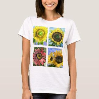 Five Sunflowers T-shirt Apparel