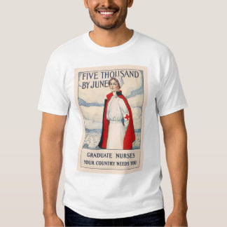 Five thousand by June - Graduate Nurses Needed T-Shirt