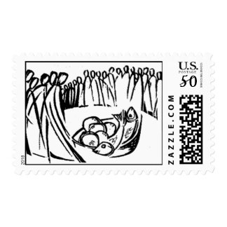 Five Thousand Fed - Med Postage