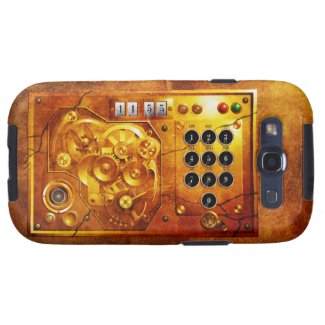 Five to of 12 Steampunk clock Grunge Schutzhülle Fürs Galaxy S3
