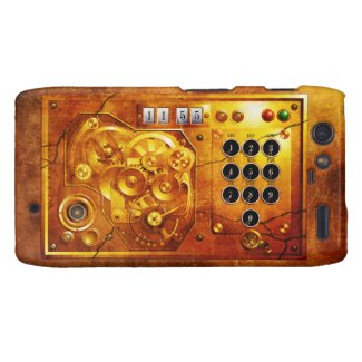 Five to of 12 Steampunk clock Grunge Motorola Droid RAZR Hüllen