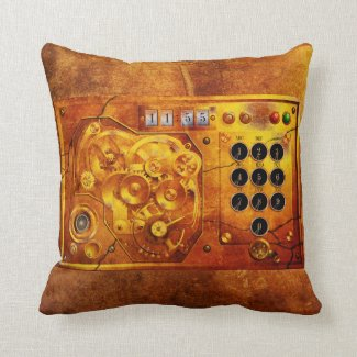 Five to of 12 Steampunk clock Grunge Zierkissen
