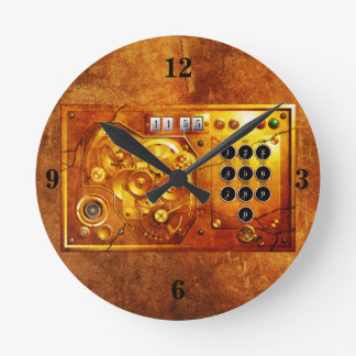 Five ton of OF 12 Steampunk clock Grunge