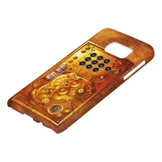 Five ton of OF 12 Steampunk clock Grunge Samsung Galaxy S7 Case