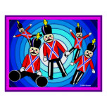 Five Toy Soldiers Print