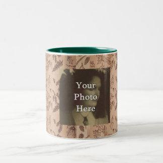Five Trees Rustic Primitive Woodland Photo Ready Coffee Mug