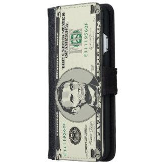 Five USD $ Dollar Money Banknote iPhone 6 Wallet Case