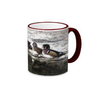 Five Wood Ducks Mug