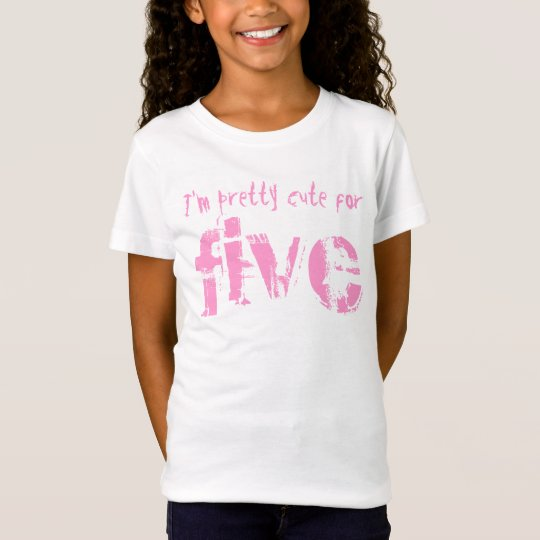 Five Year Old 5th Birthday Gift V011 T-Shirt