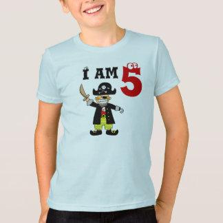 Five year old birthday boy ( pirate ) T-Shirt