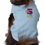 Five Years old fifth Birthday Party Ze6bl Shirt