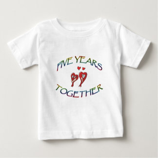 FIVE YEARS TOGETHER BABY T-Shirt