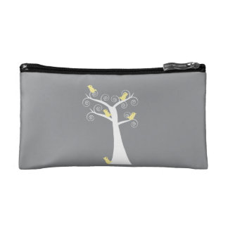 Five Yellow Birds in a Tree Bagettes Bag