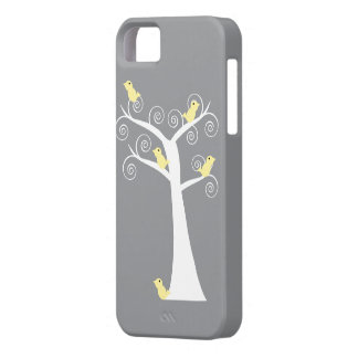 Five Yellow Birds in a Tree Case iPhone 5 Cover