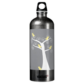 Five Yellow Birds in a Tree Liberty Bottle