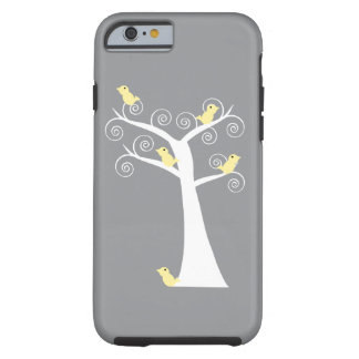 Five Yellow Birds in a Tree Tough iPhone 6 Case