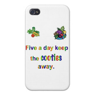 FiveADay iPhone 4/4S Cases