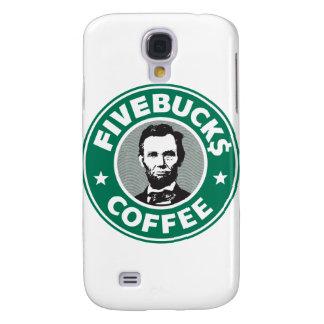 Fivebucks Coffee  Galaxy S4 Cover