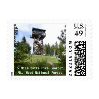 Fivemile Butte Fire Lookout, OR Postage