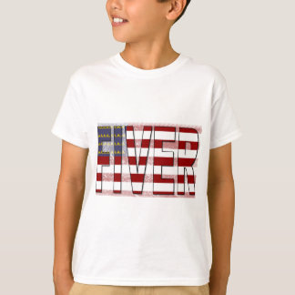 Fiver American Flag T-Shirt