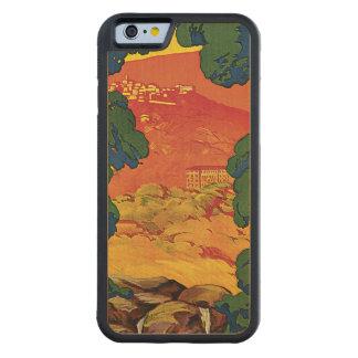 Fivggi By Corbella Carved® Maple iPhone 6 Bumper Case