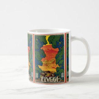 Fivggi By Corbella Classic White Coffee Mug