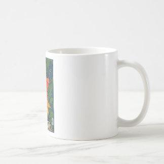 Fivggi Italy Travel Poster Classic White Coffee Mug