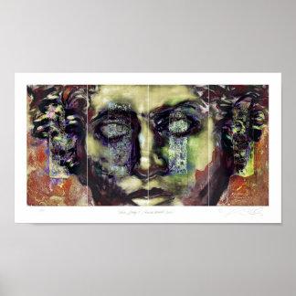 Fivia/primera fase/serie romana del retrato póster