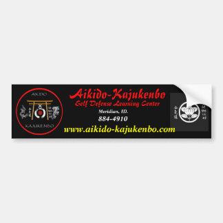 fix_1200, beebop, Aikido-Kajukenbo, Self Defens... Bumper Stickers