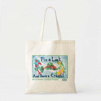 Fix a Leak - Save a Creek Tote Bag