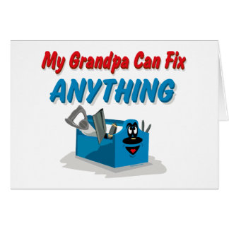 Fix Anything Grandpa Card