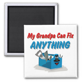 Fix Anything Grandpa Magnet