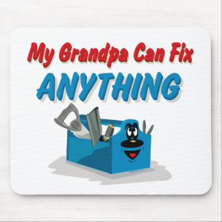 Fix Anything Grandpa Mouse Pad
