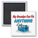 Fix Anything Grandpa Refrigerator Magnets