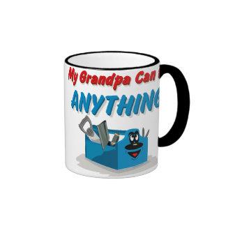 Fix Anything Grandpa Ringer Coffee Mug