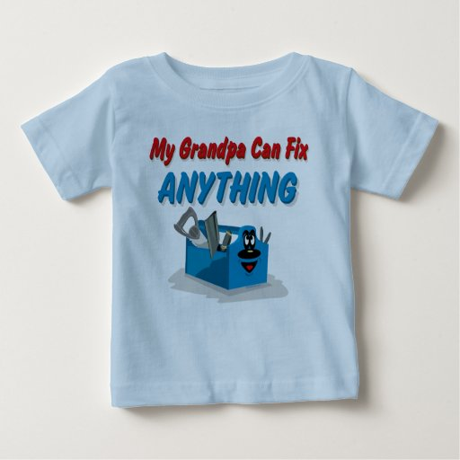 Fix Anything Grandpa Tees