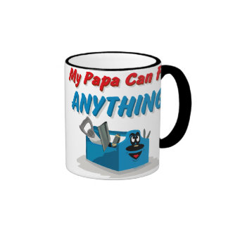 Fix Anything Papa Ringer Mug