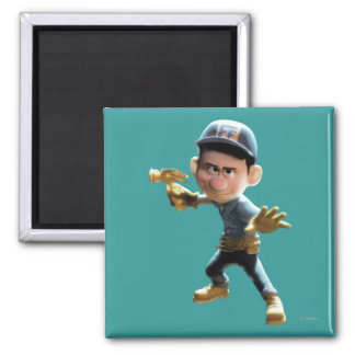 Fix-It Felix Jr. 1 2 Inch Square Magnet