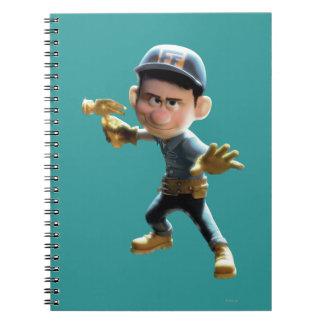 Fix-It Felix Jr. 1 Spiral Note Book