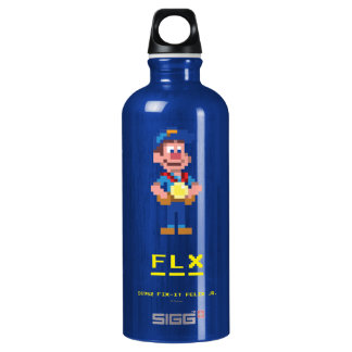 Fix-It Felix Jr: FLX Aluminum Water Bottle