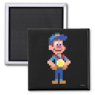 Fix-It Felix Jr: FLX 2 Inch Square Magnet