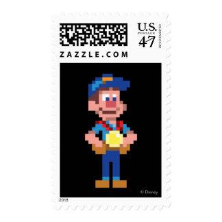 Fix-It Felix Jr: FLX Postage Stamp